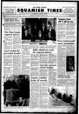 Squamish Times: Wednesday, February 5, 1969