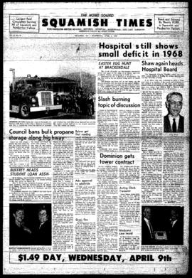 Squamish Times: Wednesday, April 2, 1969