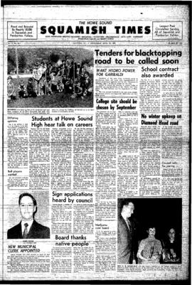Squamish Times: Wednesday, April 30, 1969