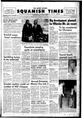 Squamish Times: Wednesday, June 25, 1969