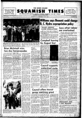 Squamish Times: Wednesday, June 11, 1969