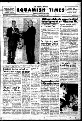 Squamish Times: Wednesday, July 16, 1969