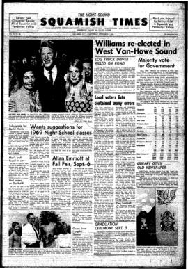Squamish Times: Wednesday, September 3, 1969