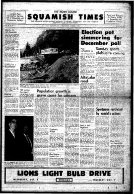 Squamish Times: Wednesday, October 8, 1969