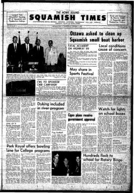 Squamish Times: Wednesday, October 1, 1969