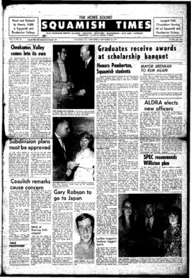 Squamish Times: Wednesday, September 30, 1970