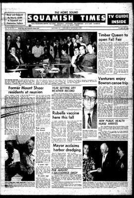 Squamish Times: Wednesday, September 9, 1970