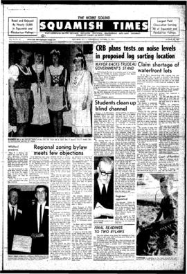 Squamish Times: Wednesday, October 21, 1970