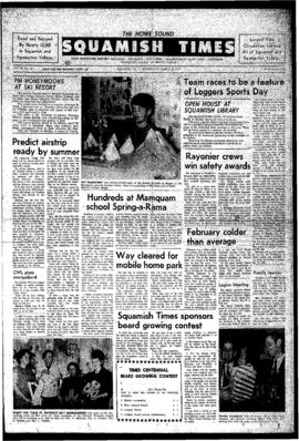 Squamish Times: Wednesday, March 10, 1971