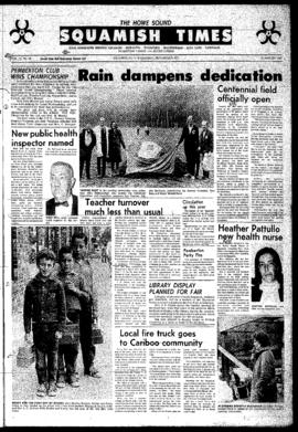 Squamish Times: Wednesday, September 8, 1971