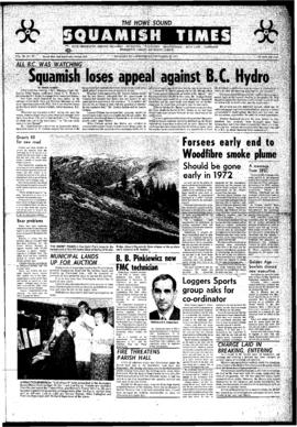 Squamish Times: Wednesday, September 29, 1971