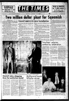 Squamish Times: Wednesday, January 19, 1972