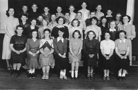 Mashiter School picture, 1949