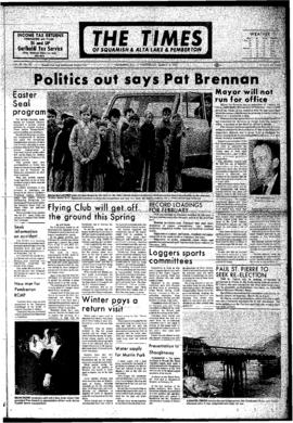 Squamish Times: Wednesday, March 8, 1972