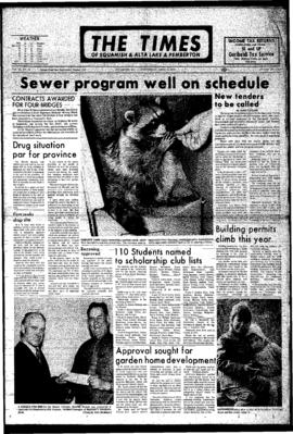 Squamish Times: Wednesday, April 5, 1972