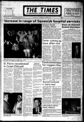 Squamish Times: Wednesday, March 29, 1972