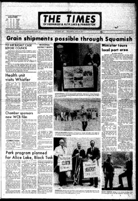 Squamish Times: Wednesday, June 14, 1972