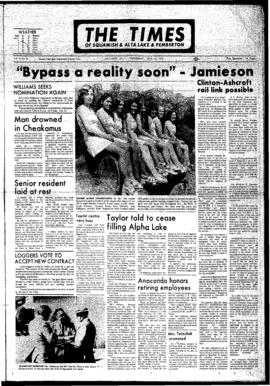 Squamish Times: Wednesday, July 12, 1972