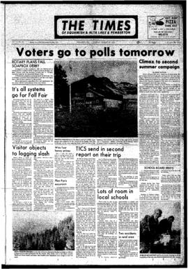 Squamish Times: Wednesday, August 29, 1972