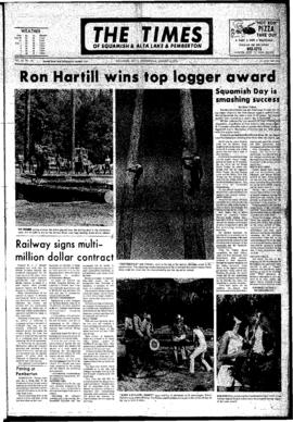 Squamish Times: Wednesday, August 9, 1972