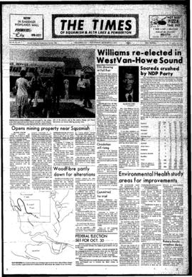 Squamish Times: Wednesday, September 6, 1972