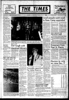 Squamish Times: Wednesday, November 8, 1972