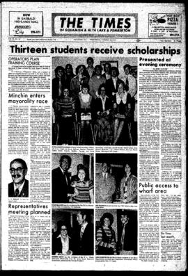 Squamish Times: Wednesday, October 18, 1972