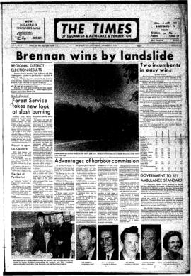 Squamish Times: Wednesday, December 13, 1972