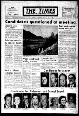 Squamish Times: Wednesday, December 6, 1972