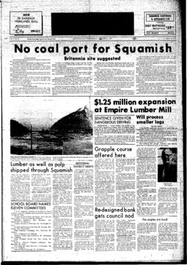 Squamish Times: Wednesday, January 31, 1973