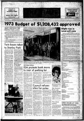Squamish Times: Wednesday, May 16, 1973