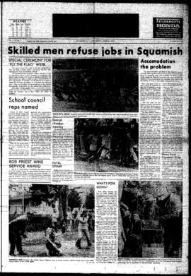 Squamish Times: Wednesday, June 20, 1973