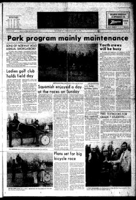 Squamish Times: Wednesday, May 30, 1973