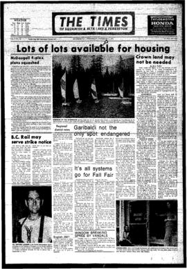 Squamish Times: Wednesday, September 5, 1973