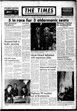 Squamish Times: Wednesday, October 31, 1973