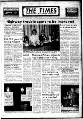 Squamish Times: Wednesday, November 28, 1973