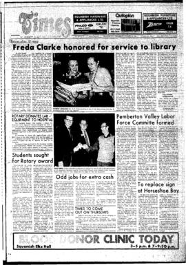 Squamish Times: Wednesday, January 30, 1974