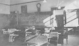 Inside classroom at Mashiter School