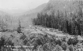Merrill & Ring Logging Camp, 1926