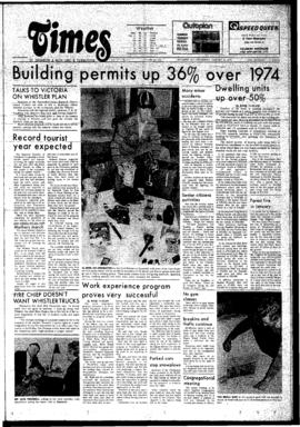 Squamish Times: Thursday, January 23, 1975