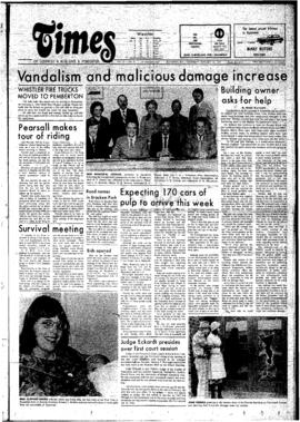Squamish Times: Thursday, January 16, 1975