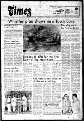 Squamish Times: Thursday, January 2, 1975