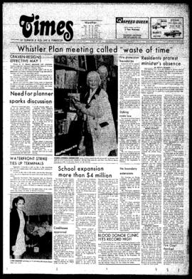 Squamish Times: Thursday, March 6, 1975