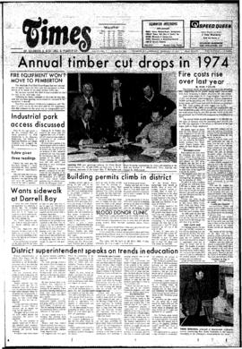 Squamish Times: Thursday, February 13, 1975