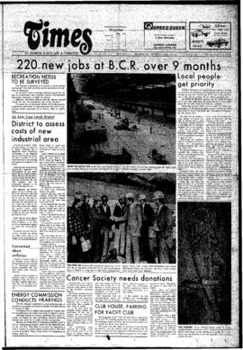 Squamish Times: Thursday, April 10, 1975
