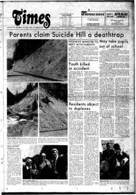 Squamish Times: Thursday, May 29, 1975