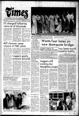 Squamish Times: Thursday, July 24, 1975