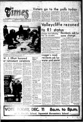 Squamish Times: Thursday, December 11, 1975