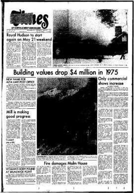 Squamish Times: Thursday, March 11, 1976
