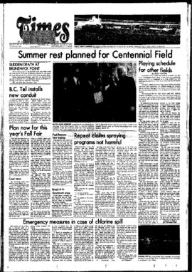 Squamish Times: Thursday, March 25, 1976